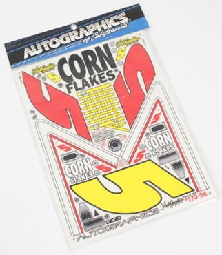 170-5b Corn Flakes Stickers
