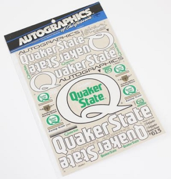 613 Quaker State Decals Ver1