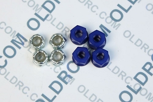 a6303 10-32 Locking Nuts Blue