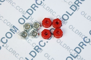 a6303 10-32 Locking Nuts Red