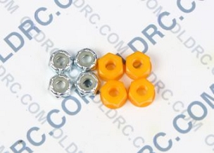 a6303 10-32 Locking Nuts Orange