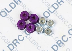a6303 10-32 Locking Nuts Purple